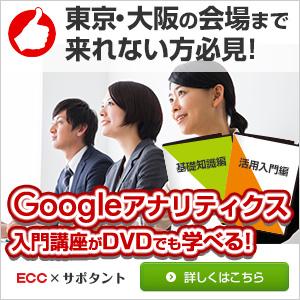 Googleアナリティクス入門DVD講座
